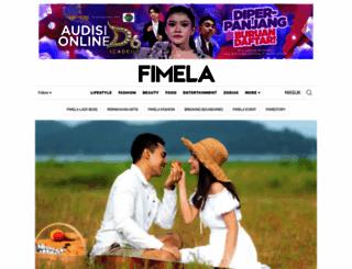 fimela.com screenshot