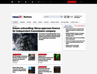 fin24.com screenshot