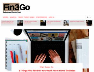 fin3go.com screenshot