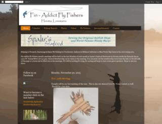 finaddictflyfishers.blogspot.com screenshot