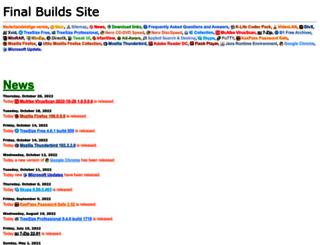 finalbuilds.com screenshot