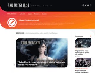 finalfantasy.com.br screenshot