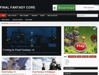 finalfantasycore.com screenshot