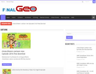finalgeo.com screenshot