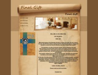 finalgiftanovel.com screenshot