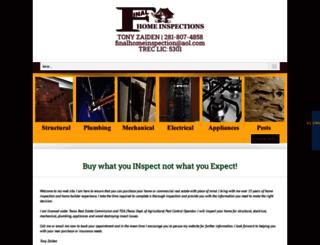 finalhomeinspection.com screenshot