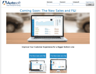 finance.autosoft-asi.com screenshot