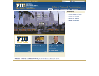 finance.fiu.edu screenshot