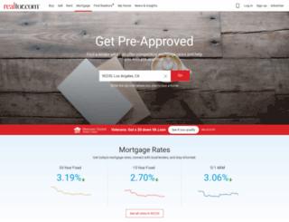 finance.realtor.com screenshot