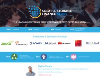 finance.solarenergyevents.com screenshot