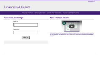 finance.uwo.ca screenshot