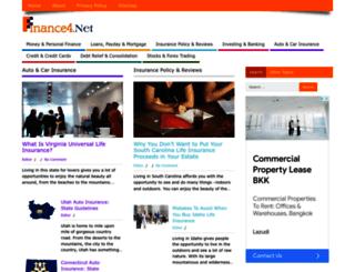 finance4.net screenshot