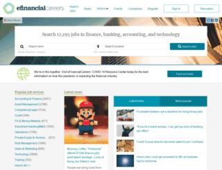 financeasia.efinancialcareers.com screenshot