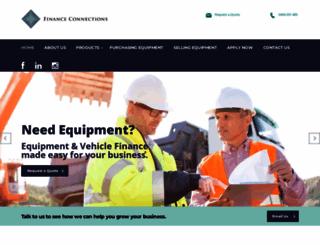 financeconnections.com.au screenshot