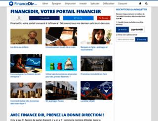 financedir.com screenshot