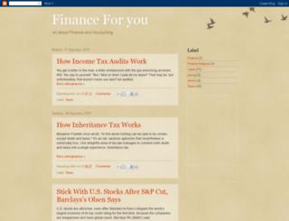 financeforyou143.blogspot.com screenshot
