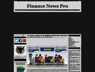 financenewspro.com screenshot