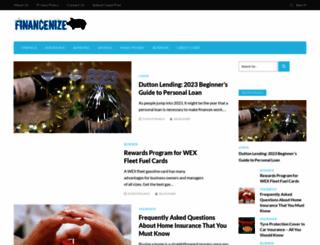 financenize.com screenshot