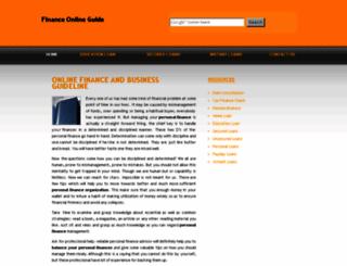 financeonlineguide.com screenshot