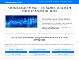 finances.enligne-fr.com screenshot