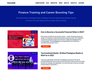 financewalk.com screenshot