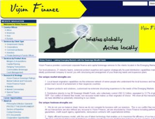 financewithvision.net screenshot