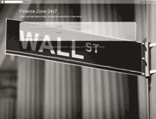 financezone24x7.blogspot.com screenshot