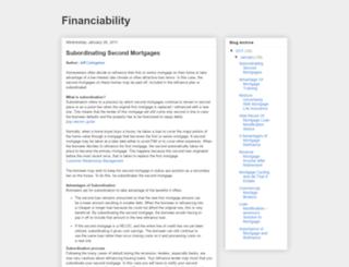 financiability.blogspot.com screenshot