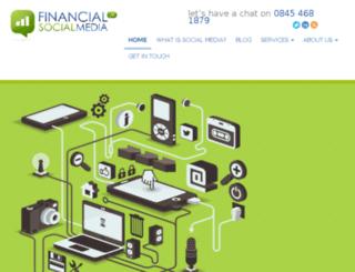 financial-socialmedia.co.uk screenshot