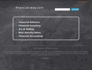 financial-way.com screenshot