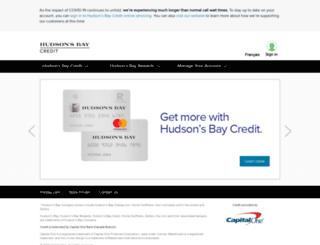 financial.hbc.com screenshot