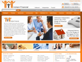 financialadvisersne.co.uk screenshot