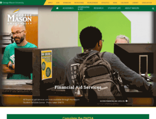 financialaid.gmu.edu screenshot