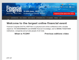 financialcongress.com screenshot