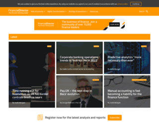 financialdirector.co.uk screenshot