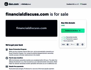 financialdiscuss.com screenshot