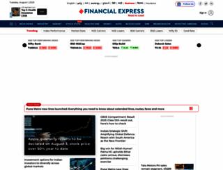 financialexpress.com screenshot