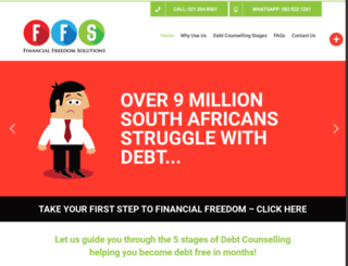 financialfreedomsolutions.co.za screenshot