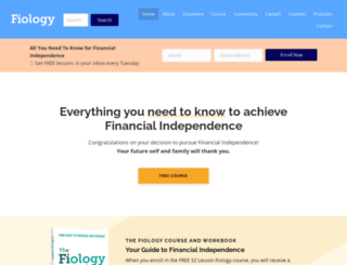 financialindependenceforall.com screenshot
