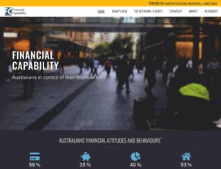 financialliteracy.gov.au screenshot