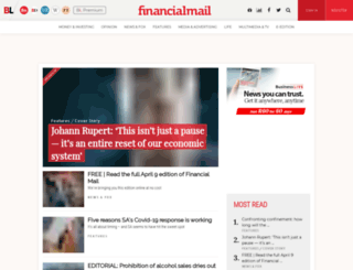 financialmail.co.za screenshot
