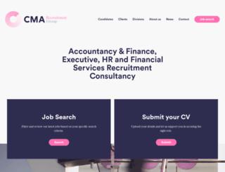 financialrecruitment.co.uk screenshot