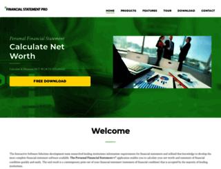 financialstatementpro.com screenshot