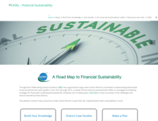 financialsustainability.casel.org screenshot