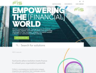 financialsystems.sungard.com screenshot
