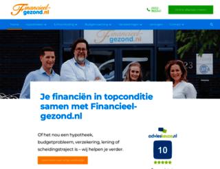 financieel-gezond.nl screenshot