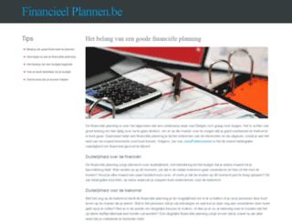 financieelplannen.be screenshot