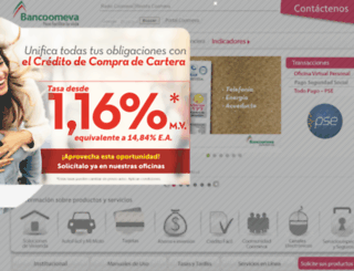 financiero.coomeva.com.co screenshot