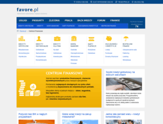 finanse.favore.pl screenshot