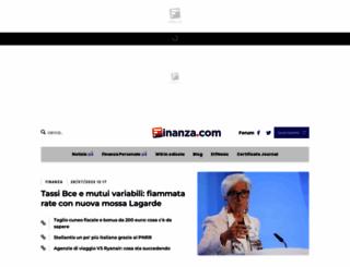 finanza.com screenshot